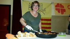 """Sirviendo Albóndigas en el """"Sopar de Germanor 2015"""""""