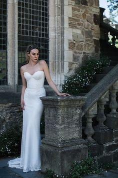 Karen Willis Holmes 'Gerry/Merida' combination wedding gown. @kwhbridal