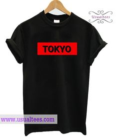 Tokyo Graphic T-Shirt from usualtees.com This t-shirt is Made To Order, one by one printed so we can control the quality.