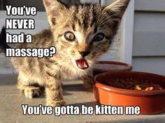 Nooit een massage gehad????