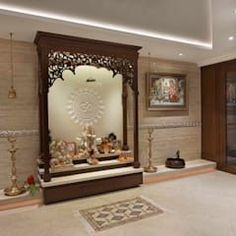 Super Ideas Home Office Bedroom Layout Study – Home Office Design Layout Pooja Room Design, Pooja Rooms, Temple Design For Home, Living Room Inspiration Board, Traditional Bedroom Decor, Home Office Design, Room Door Design, Pooja Room Door Design, Room Layout