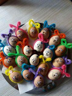 Dyi Crafts, Decoration, Craft, Easter Eggs, Easter, Decor, Dekoration, Decorations, Embellishments