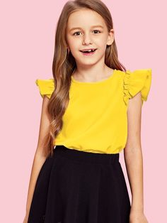 Teen Girl Outfits, Girls Fashion Clothes, Kids Fashion, Fashion Outfits, Trendy Clothing, Fashion Women, Fashion Ideas, Crop Top Outfits, Trendy Outfits