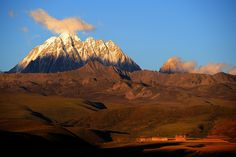 The sacred Mount Zhara Lhatse 5820m at sunset, Tibet | Flickr - Photo Sharing!