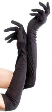 Rękawiczki matowe w stylu retro - lata '20/'30.