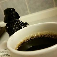 Darthi wieder beim Kaffee