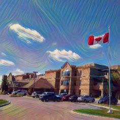 Flag #107 of 150 taken @schlegelvillage #AspenLake in #Windsor for my #Canada150 photos. #YQG . . . . . #windsorontario #windsoressex #wincity #ontario #art #flag #mapleleaf #Canadian #longtermcare #seniirliving #schlegelvillage