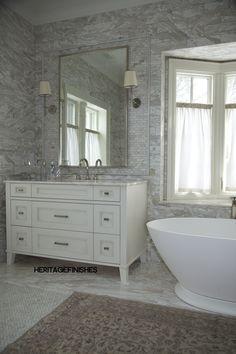 Custom Bathroom Vanities Ontario custom walnut stained bathroom vanity (master ensuite) completed