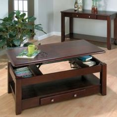 Coffee table with storage!