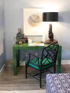 green west elm parsons desk modern seabrook home brian paquette