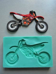Items similar to Silicone Mould / Honda Motor Application 2 / Sugarcraft Cake Decorating Fondant / fimo mold on Etsy Dirt Bike Party, Dirt Bike Wedding, Dirt Bike Cakes, Motocross Cake, Motorcycle Cake, Bike Birthday Parties, Dirt Bike Birthday, Novelty Birthday Cakes, Birthday Cake Girls