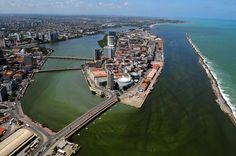 Recife Antigo aéreo