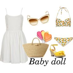 Summer icon 5 : Baby doll by kandyzz on Polyvore