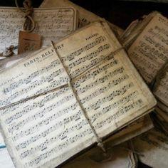 vintage sheet music. score!
