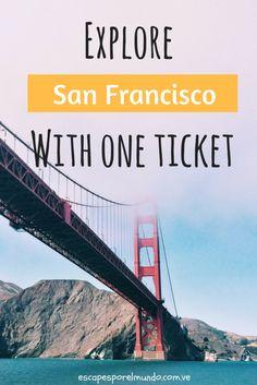 Explore San Francisco best site (affiliate) #travel #traveltips