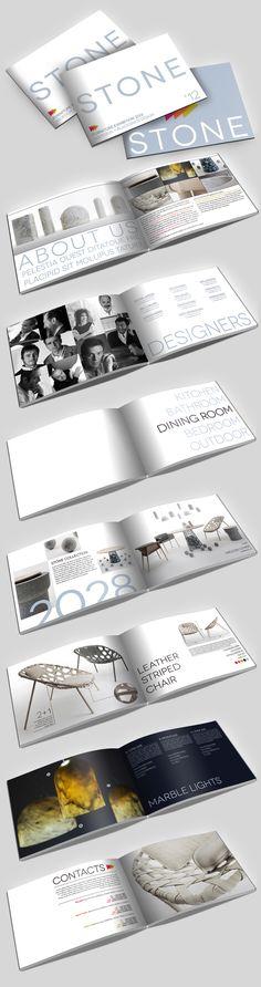 Stone Furniture Exhibition Brochure