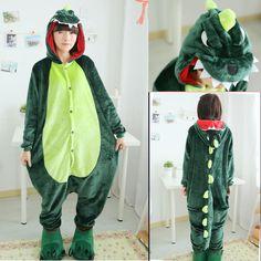 f3263d3edd Adult Dino Onesie pajamas