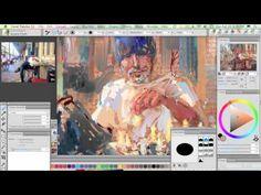 corel painter- jeremy sutton via Youtube