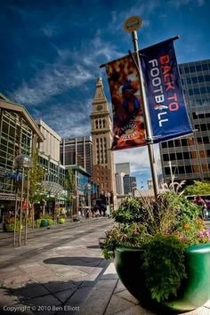 The 16th Street Mall - Denver, Colorado.