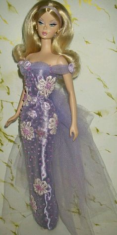 Purple Evening Dress for Silkstone BArbie