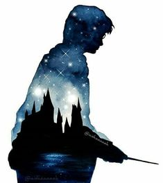 Find images and videos about harry potter and hogwarts on We Heart It - the app to get lost in what you love. Harry Potter Tumblr, Harry Potter Fan Art, Harry Potter Kunst, Images Harry Potter, Harry Potter Painting, Harry Potter Drawings, Harry Potter Facts, Harry Potter Universal, Harry Potter Fandom