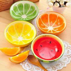 Shop our best value Watermelon Fruit Bowls on AliExpress. Check out more Watermelon Fruit Bowls items in Home & Garden, Jewelry & Accessories, Toys & Hobbies, Tools! And don't miss out on limited deals on Watermelon Fruit Bowls! Ceramic Fruit Bowl, Ceramic Plates, Pottery Painting Designs, Pottery Designs, Pottery Bowls, Ceramic Pottery, Watermelon Fruit Bowls, Sweet Watermelon, Fruit Soup