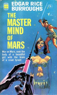 Mastermind of Mars by Edgar RIce Burroughs