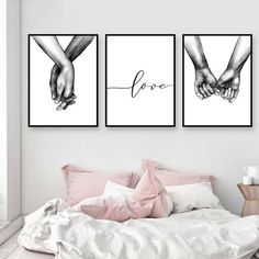 decor living room pictures Nordic Poster Black And White Holding Hands Picture Canvas Prints Lover Quote Painting Wall Art For Living Room Minimalist Decor Holding Hands Pictures, Hand Pictures, Canvas Pictures, Hand Images, Abstract Pictures, Art Pour Salon, Painting Quotes, Wall Art Quotes, Home Decor Quotes
