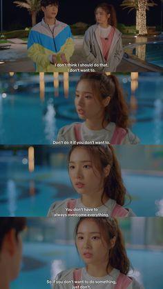 Korean Drama Quotes, The Moon Is Beautiful, Drama Fever, Drama Korea, Quote Aesthetic, Favorite Tv Shows, I Movie, Actors & Actresses, Kdrama