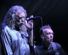 Ribert Plant and Justin Adams performs on 5/28/15 at Vegas Brooklyn Bowl.