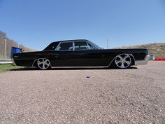 '67 lincoln with th suicide doors. me, yet again.