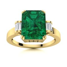 This over sized, emerald-cut Blue Topaz Emerald ring in 14k Yellow Gold is a perfect birthday or anniversary gift for the glamorous one. The stylishly placed precious baguettes, make this 14k White Gold ring inexplicably divine! Natural Emerald Rings, Love Ring, Emerald Cut, White Gold Rings, Shades Of Green, Vintage Rings, Blue Topaz, Ring Designs, Anniversary Gifts