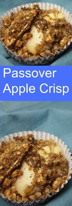 Passover Apple Crisp
