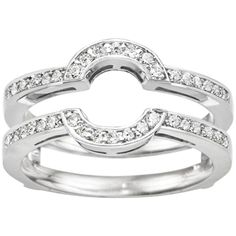 Halo Ring: Wrap Wedding Band For Halo Ring
