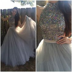 New Wedding gown Formal Prom dress Party Evening dress Quinceanera Pageant dress