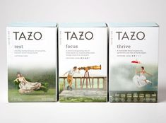 Behind the Design: Redesigning the Tazo Brand - The Dieline -