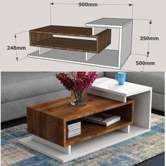 ✔Get woodworking plans that comes with step by step instructions and detailed photos. 💥Over woodworking plans With CAD/DWG software to view/edit plans High quality blueprints and schematics. Easy Woodworking Projects, Woodworking Furniture, Diy Wood Projects, Custom Woodworking, Diy Furniture, Furniture Design, Woodworking Tools, Wood Crafts, Center Table Living Room