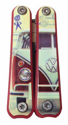Campervan Gift - VW Campervan Multi Tool, £16.95 (http://www.campervangift.co.uk/vw-campervan-multi-tool/)