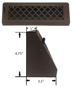 Our decorative Triangular Baseboard Register Cover is available in 3 different patterns. Baseboard Register, Baseboard Heater Covers, White Baseboards, Air Vent Covers, Register Covers, Ac Vent, Home Ac, Square Patterns, Mobile Home