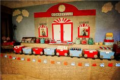 all aboard! darling train-themed birthday party! click to see more inspiration.