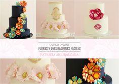 Curso Online de Flores y Decoraciones Fáciles - Patricia Arribálzaga www.cakeshautecouture.com