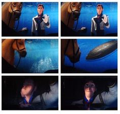 Look at his face in the last frame! He must have at least liked Anna a LITTLE BIT