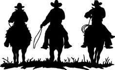 """COWBOY COWBOYS HORSE RIDERS WESTERN WALL DECAL HOME DECOR SILHOUETTE LARGE 20"""" X 33"""" , http://www.amazon.com/dp/B00ARQUT7G/ref=cm_sw_r_pi_dp_zc8Lrb089K2SY"""