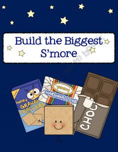 S'more Work with Fractions - Board Game