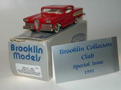Brooklin Models BRK 22x, 1958 Edsel Citation BCC Special Issue 1991, 1/43