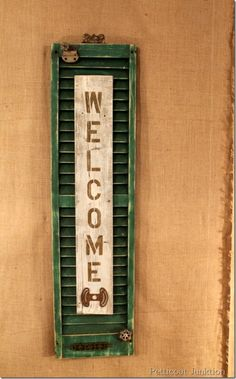 salvage-shutter-welcome-sign-craft