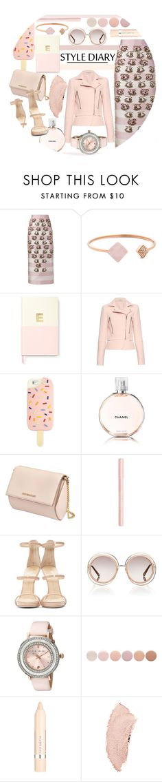 """Style Diary"" by kusja ❤ liked on Polyvore featuring Emilia Wickstead, Michael Kors, Kate Spade, Balenciaga, Tory Burch, Chanel, Givenchy, Bourjois, Giuseppe Zanotti and Chloé"