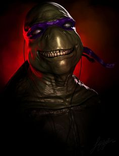 Teenage Mutant Ninja Turtles - Donatello by Jonathan Straughan