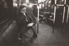 """""""Life and Love on the New York City Subway"""" photoseries by Stanley Kubrick, 1946."""
