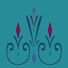 Elsa coronation dress pattern (skirt) Art Print by Kimyoo - X-Small Frozen Cosplay, Elsa Cosplay, Frozen Costume, Link Cosplay, Frozen Disney, Frozen Art, Disney Diy, Elsa Coronation Dress, Elsa Dress
